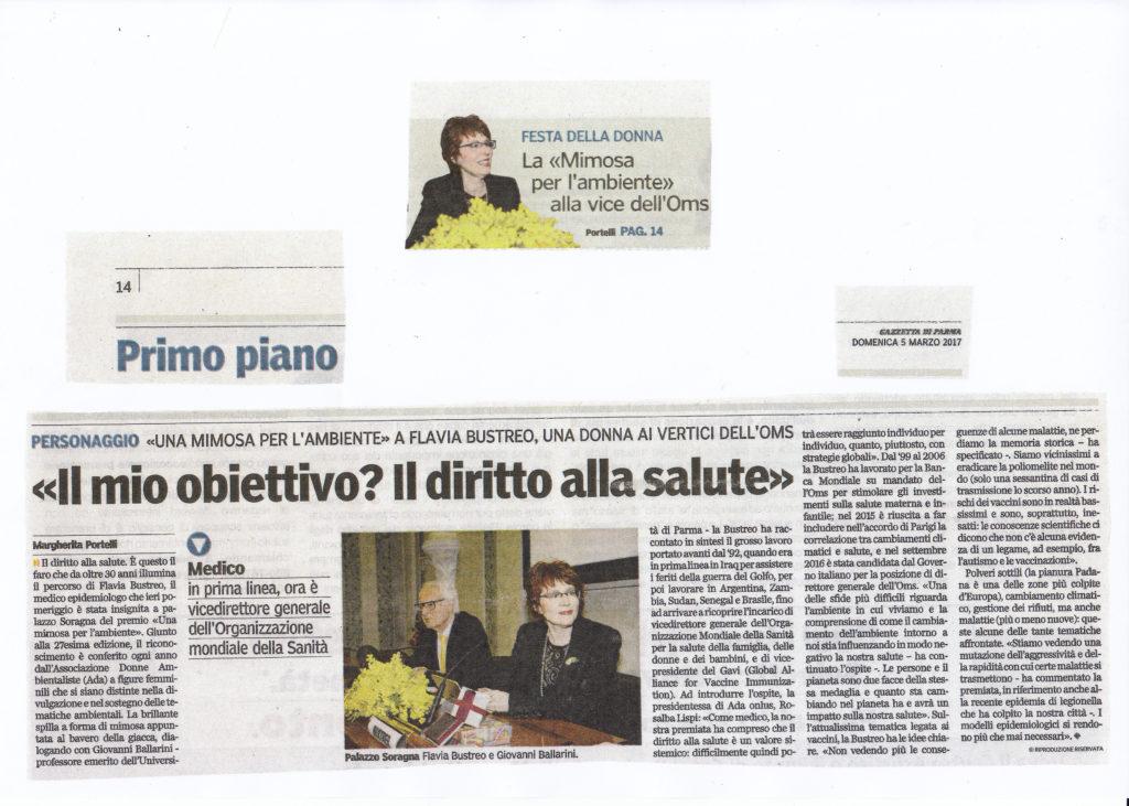 gazzetta di Parma del 05-03-17